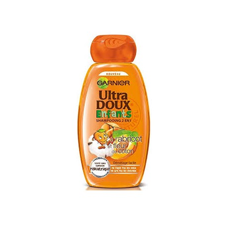 Garnier - Ultra Doux, Lot de 12 Sh. à l'abricot - 250ml