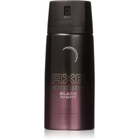 AXE - LOT DE 6 DEO BODY SPRAY - 150ML BLACK NIGHT