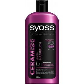 SYOSS - LOT DE 6 SHAMPOING 500ML - CERAMIDE