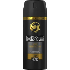 AXE - LOT DE 6 DEO BODY SPRAY - 150ML GOLD TEMPTATION