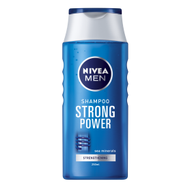 NIVEA - LOT DE 12 SHAMPOINGS STRONG POWER - 12x250ML