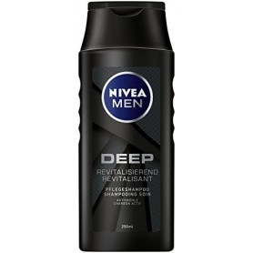 NIVEA - LOT DE 12 SHAMPOING DEEP - 12x250ML