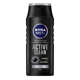 NIVEA - LOT DE 6 SHAMPOINGS ACTIVE CLEAN - 6x250ML