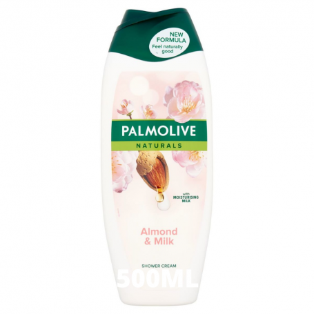 PALMOLIVE - LOT DE 6 GELS DOUCHES LAIT & AMANDE - 6x500ML